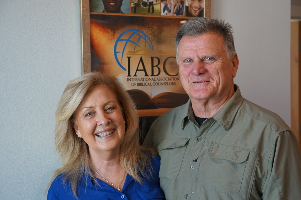 Carl and Sarah Cadwell - Certified counselors with IABC.