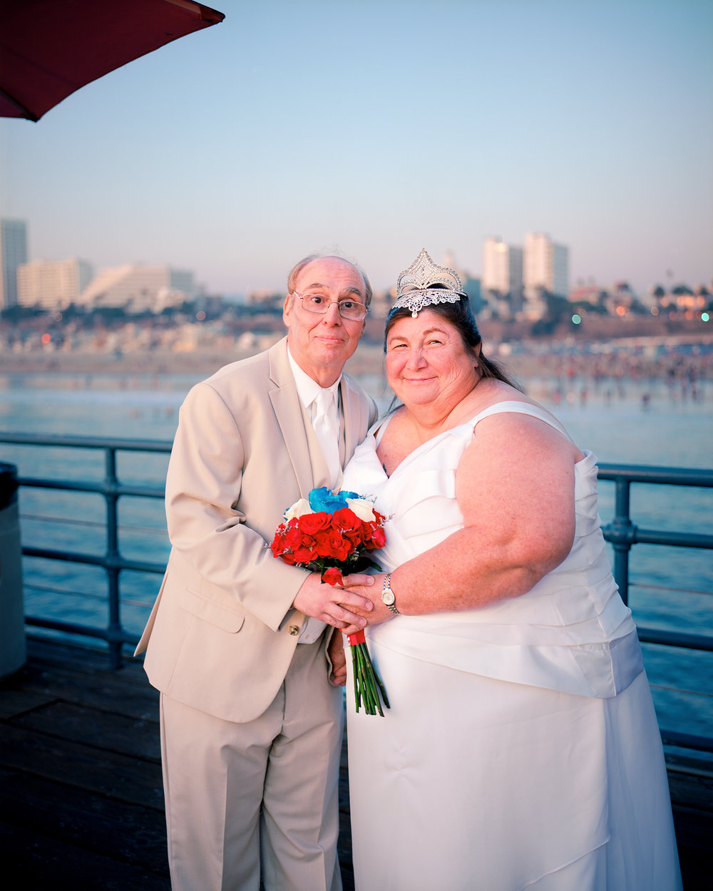 Statement    Newlyweds, Santa Monica Pier (New Years Day)
