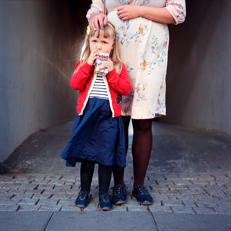 Mother and Daughter - Reykjavik, June 2012
