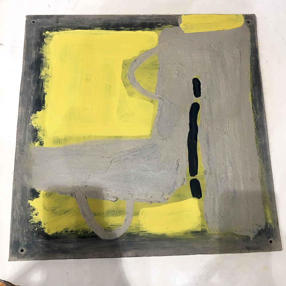 Works on clay, works on paper series, Patty Klamser