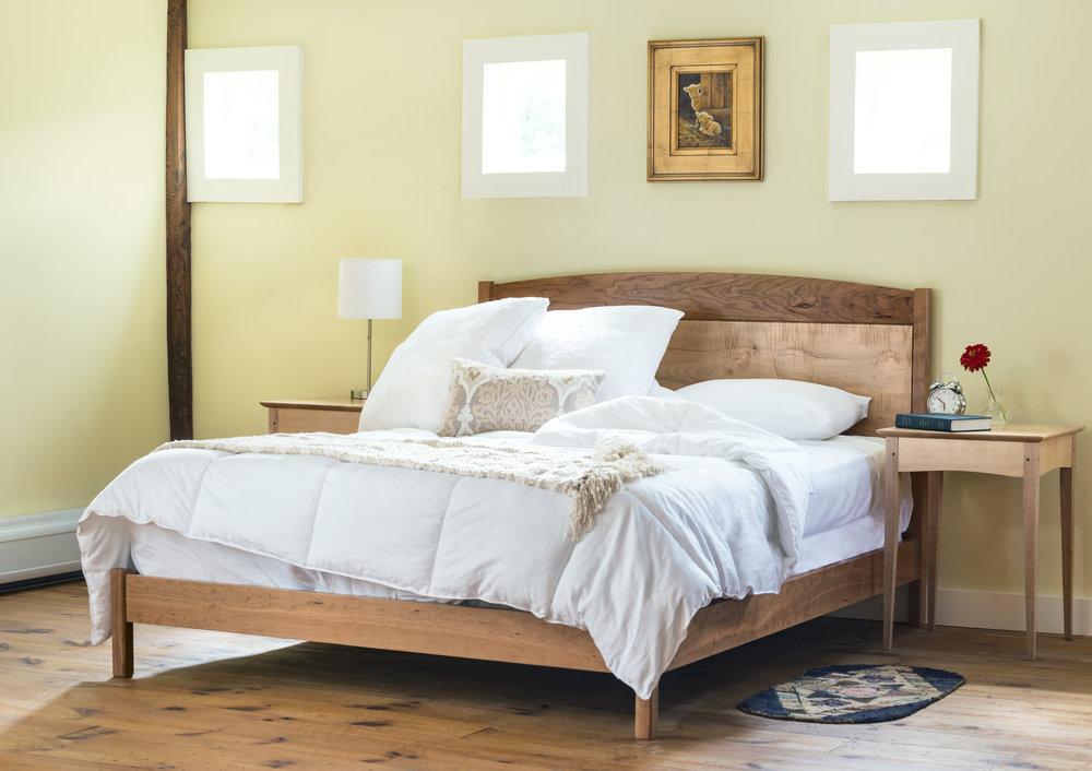 Frame & Panel Bed