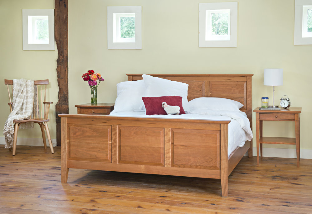 bedroom-furniture-raised-panel-bed-night-table-side-stand