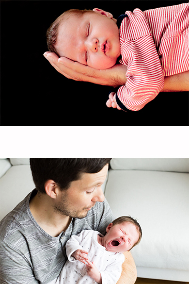 Newborn & Familie -