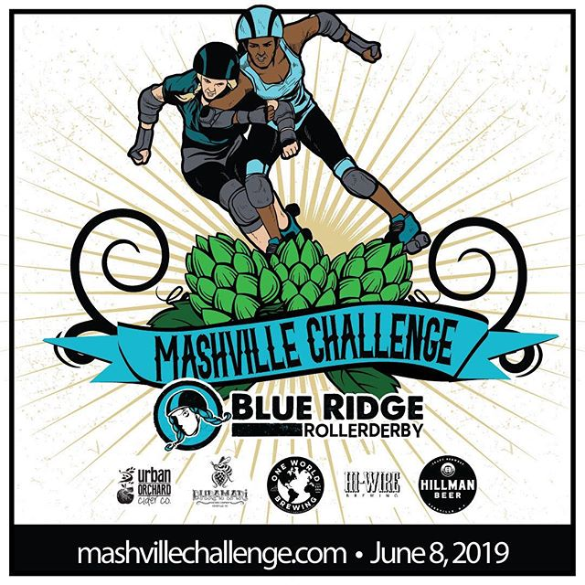 JUNE 8th! 🚨SAVE THE DATE!🚨 This will be our only home game this year - you only get one shot Fancy, don't let us down... 5 breweries and 5 derby teams, each mashing it out for top dawg! Plus vendors, music, food, and more! Comment 🍻💙 below, and you'll get high fives from derby fairies! . . . 🔗 in bio for more info