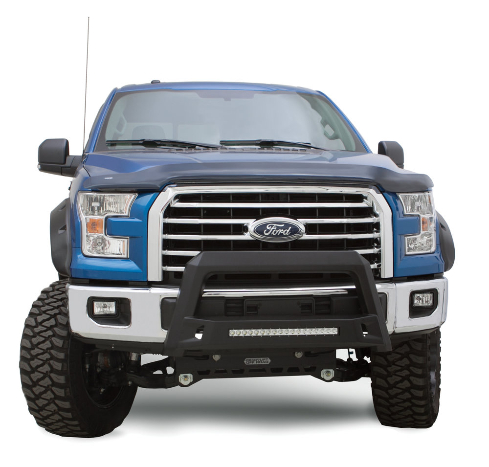 bull bars - Get a rugged look, while adding tough protection. Add a vehicle specific bull bar and personalize your truck's look.