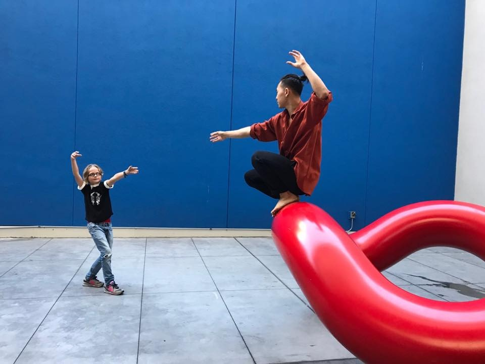 epiphany dance theater 'embedded' at SF MOMA 2018 SF, CA  photo by mother of child
