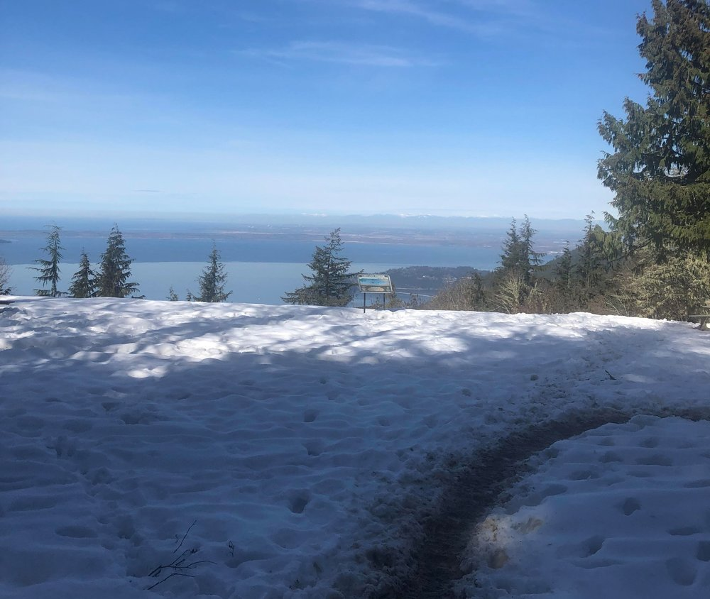 The view during the Chuckanut 50K did not suck