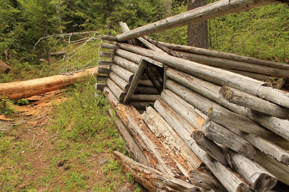 Hike 36: Little Badger Creek and Kinzel Cabin