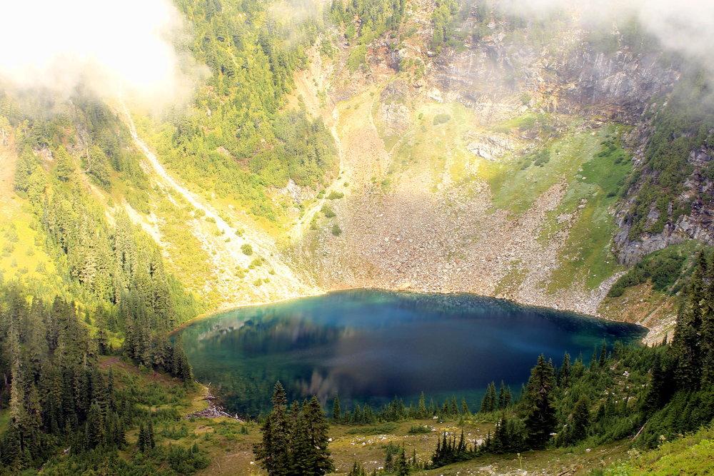 Round Lake, Glacier Peak Wilderness