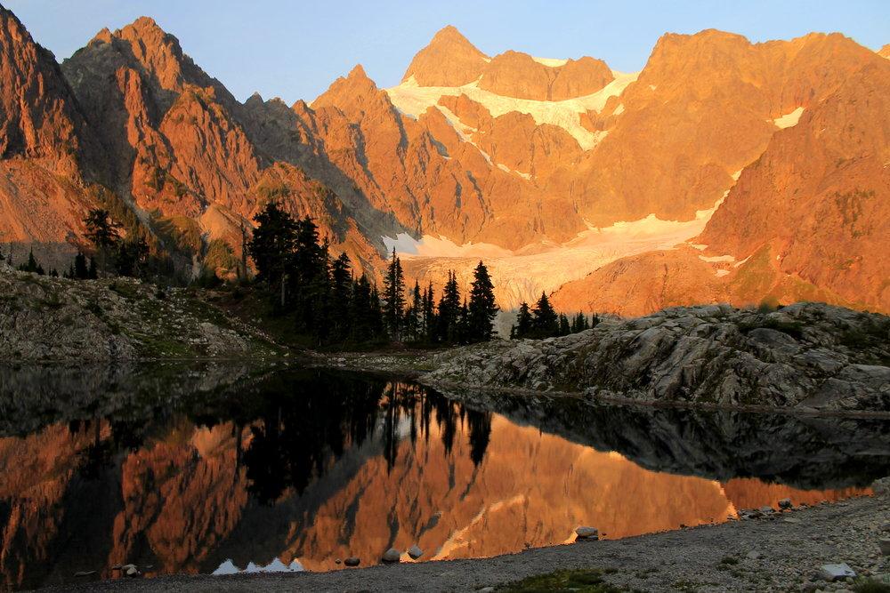 Lake Ann and Mount Shuksan, Mount Baker Wilderness