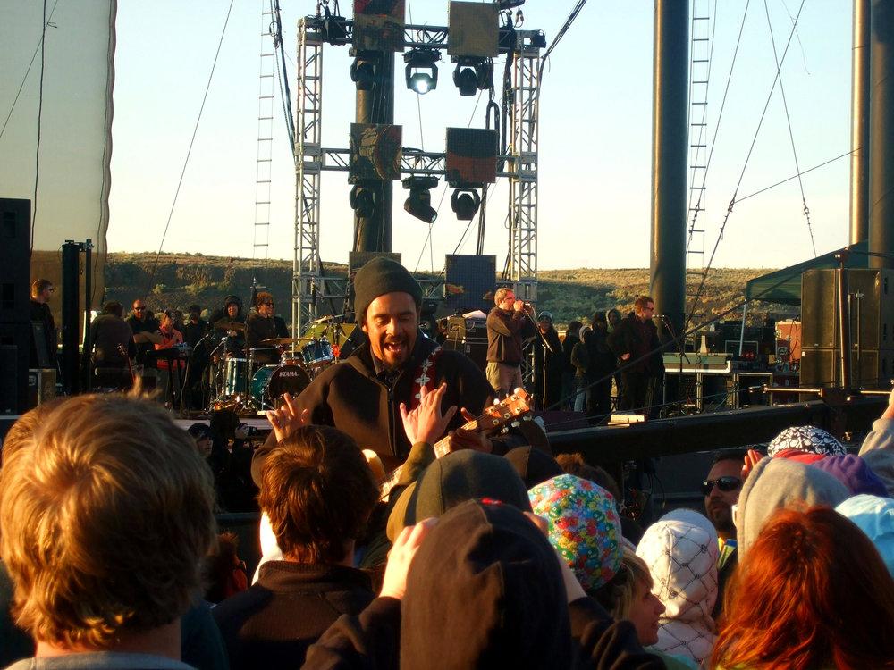 Michael Franti - May 27, 2007 - Sasquatch Festival
