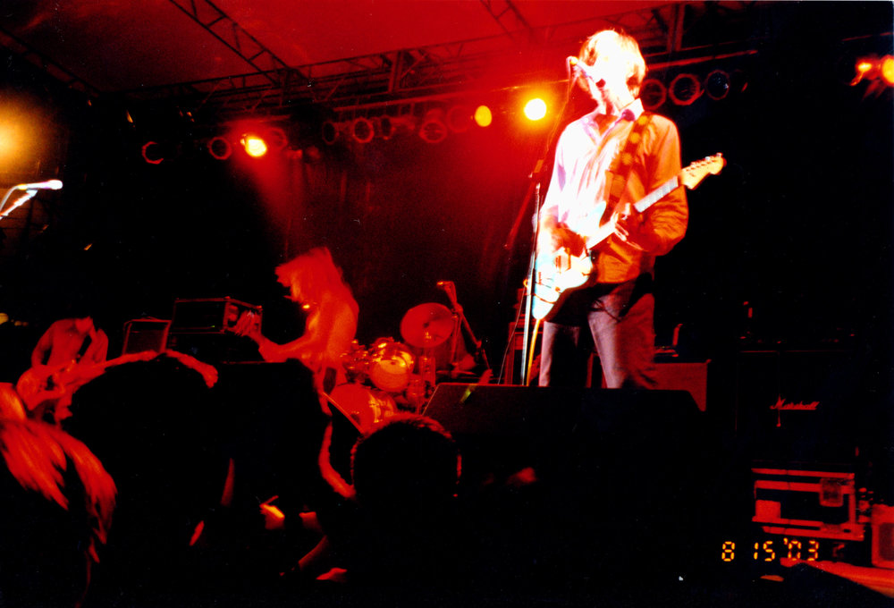 Sonic Youth - August 15, 2003 - Chicago, IL, USA