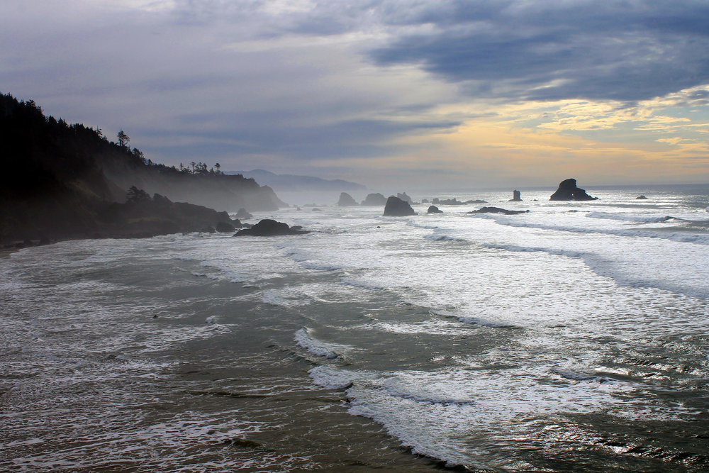 Ecola State Park.