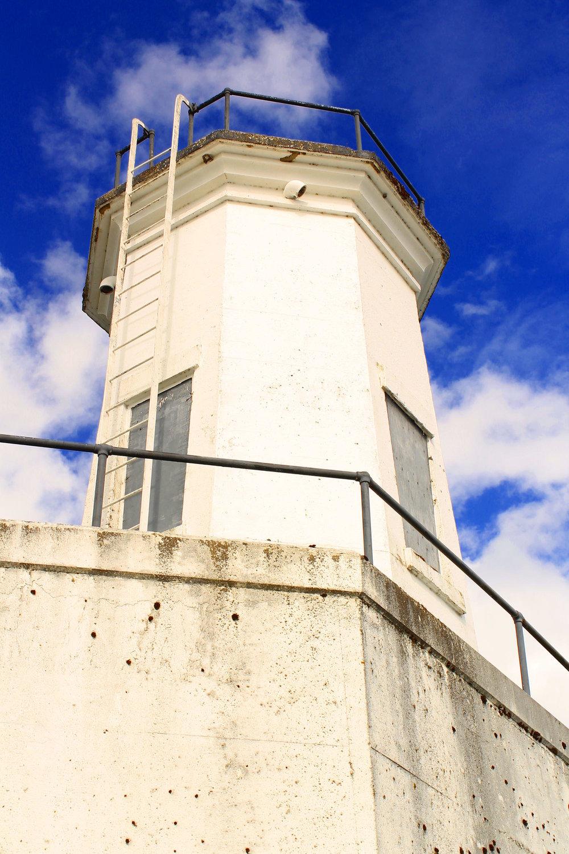 Warrior Rock Lighthouse on Sauvie Island.