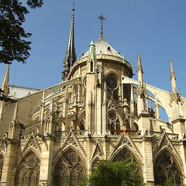 Tonight my heart is broken. I've spent a lot of time in France, and I've visited Notre-Dame several times. Today's fire has gutted me. The cathedral will be rebuilt, but it will never look the same. J'ai le cœur brisé. 💔