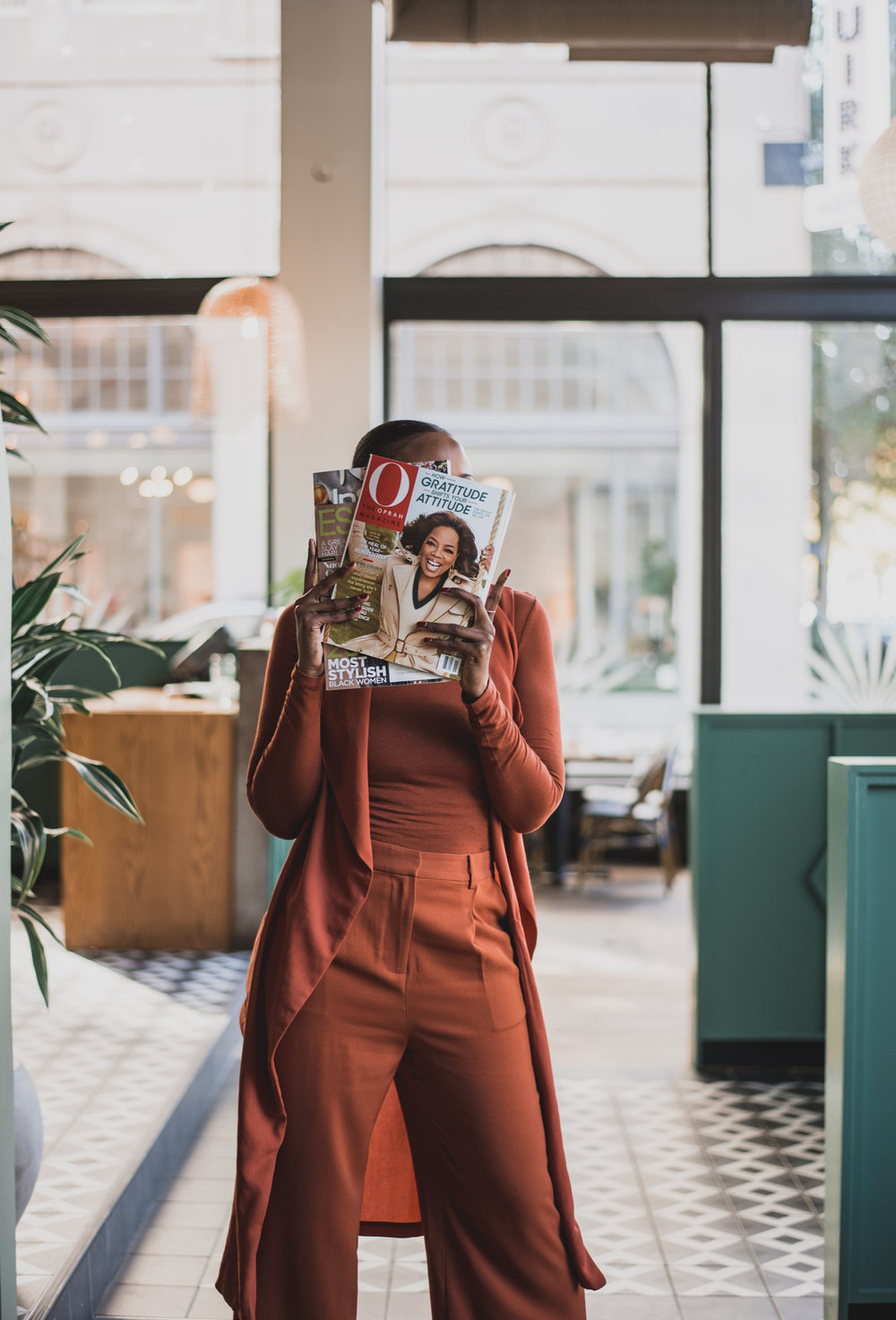 blogger and influencer portraits