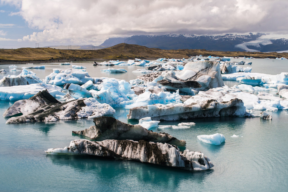 Iceland, again. The place really can be colorful. From the Jokulsarlon glacier lagoon.