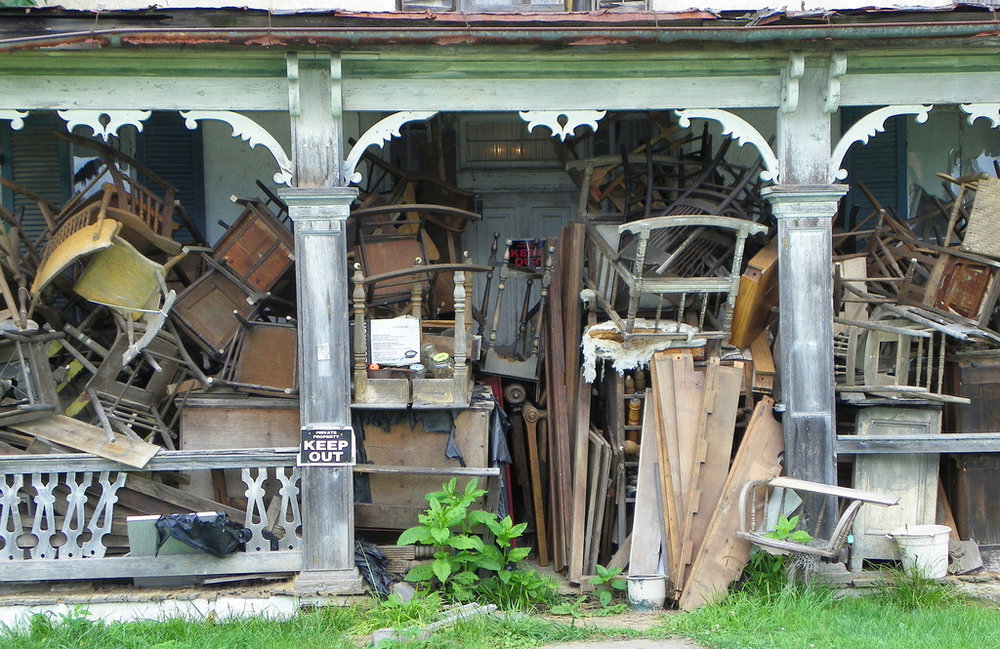 Inherited a Hoarder House