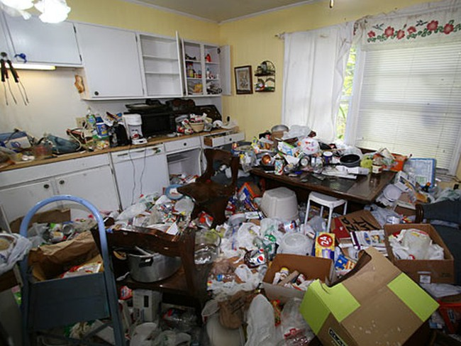 What to do with a Hoarder House