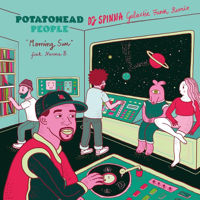 Morning Sun (DJ Spinna Remix) Potatohead People Song