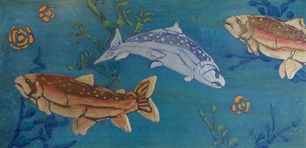 Salmon + Alewife - Study