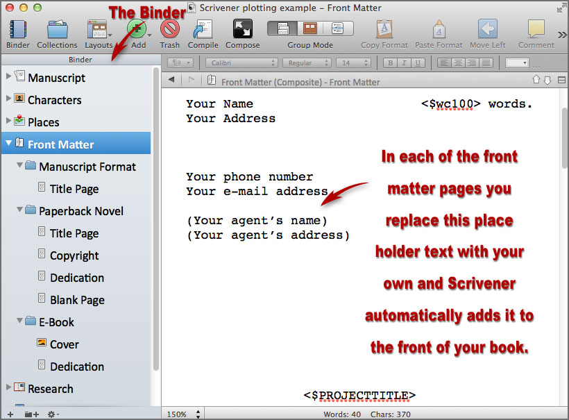 scrivener writing software 1