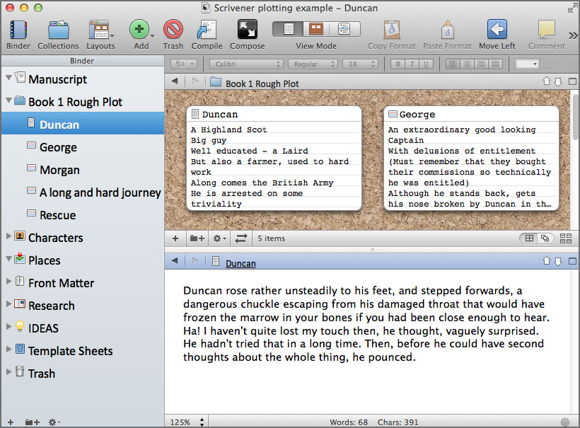 scrivener writing software 6