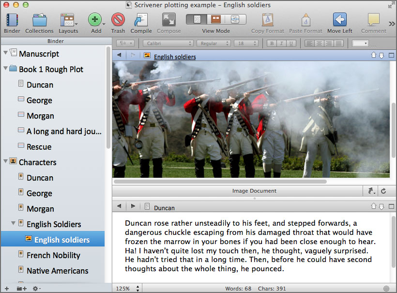 scrivener writing software 7
