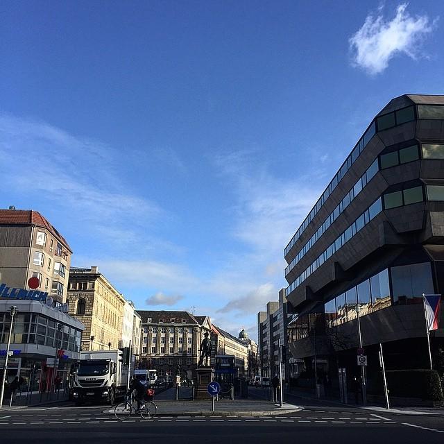 Berlin-Mitte, January.