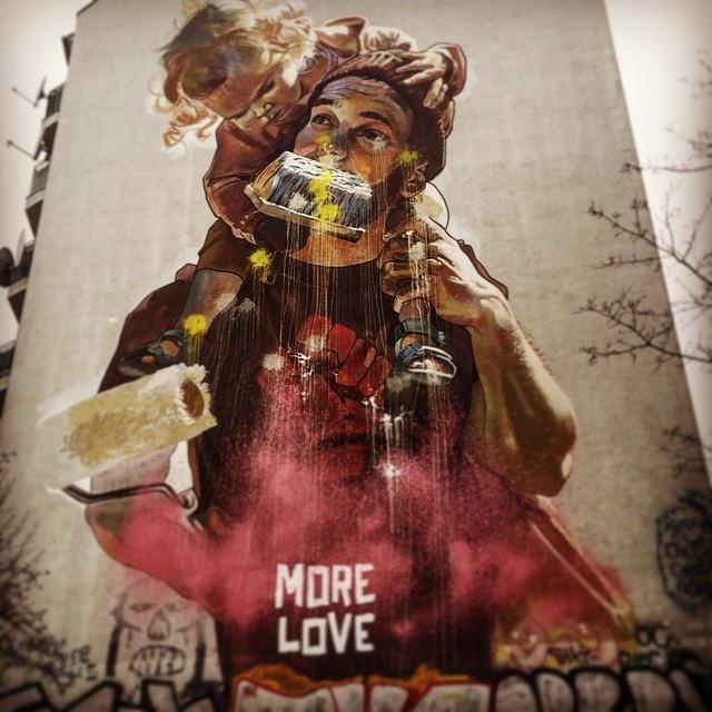More Love, Berlin Xberg, February 2019
