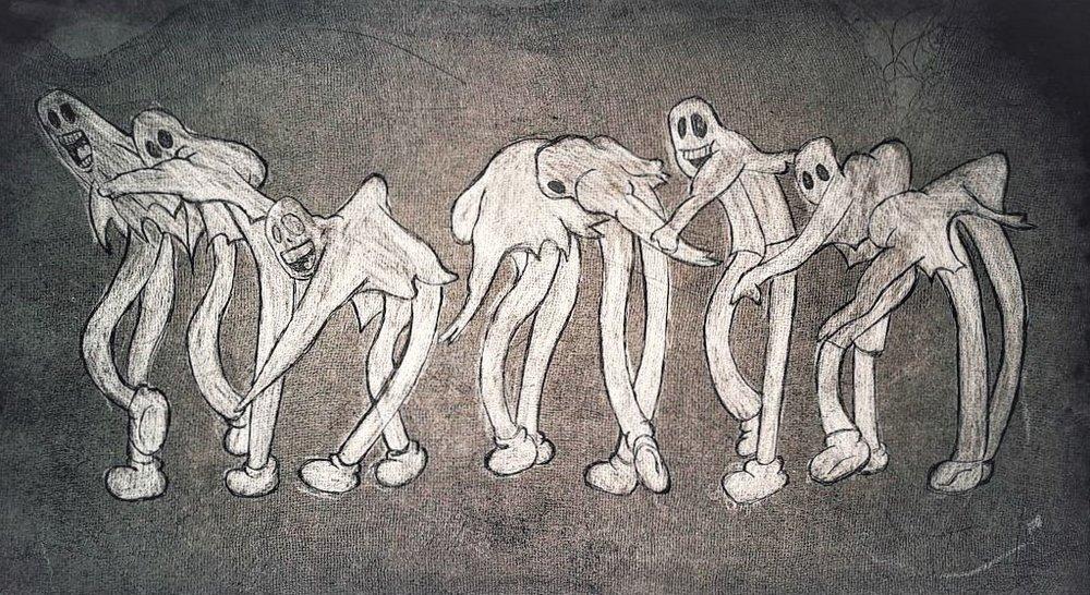 Dancing Ghost