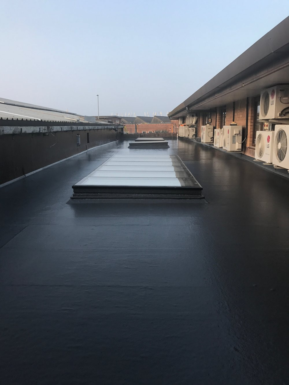 Commercial Fibreglass Roofing - Protect your business from the elements