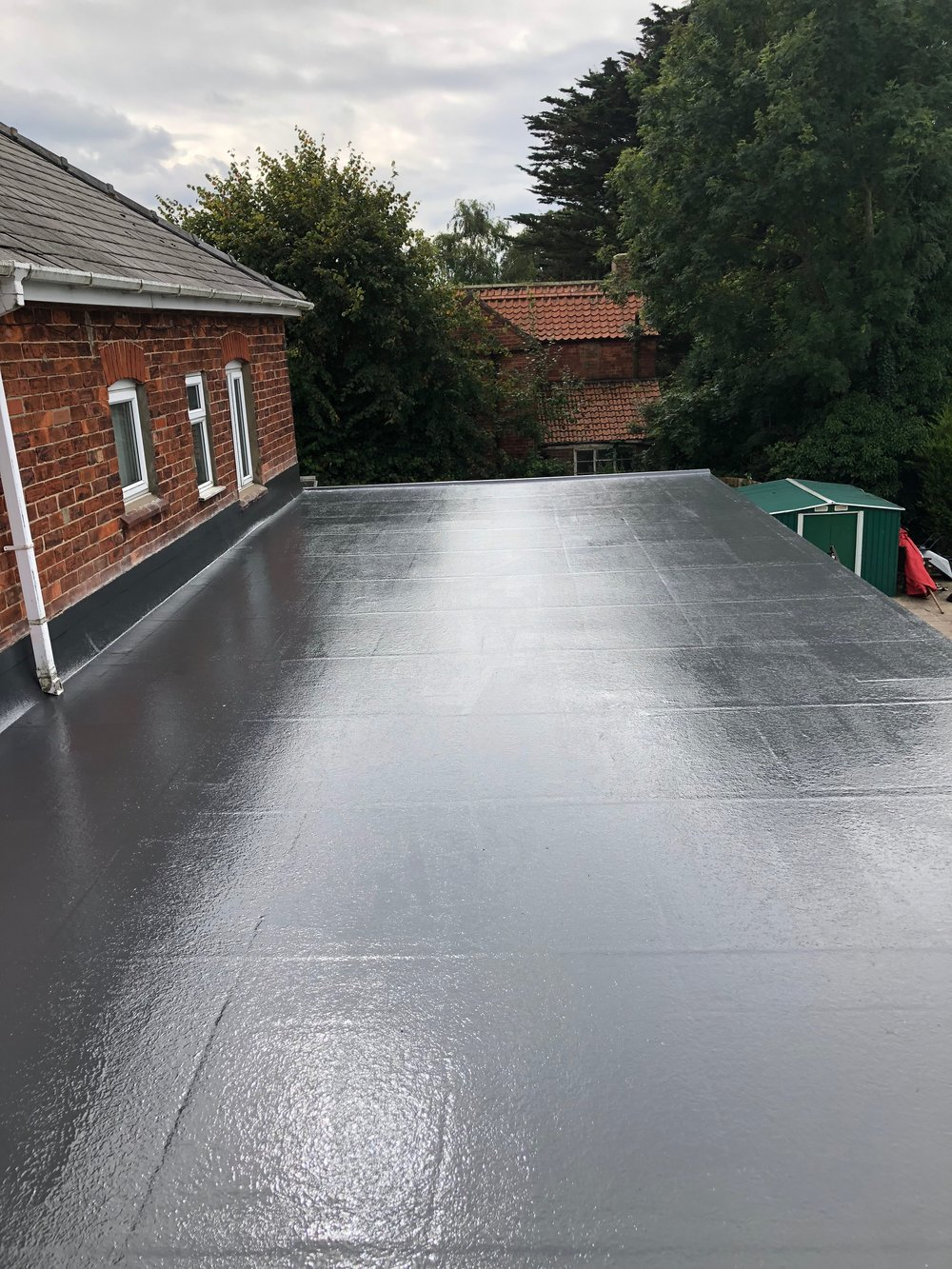 And After! - Out with the old, and in with the new. This home is now protected, once and for all with the ultimate in Fibreglass Roofing systems. Guaranteed for 25 years, with a life expectancy of up to 40 years.