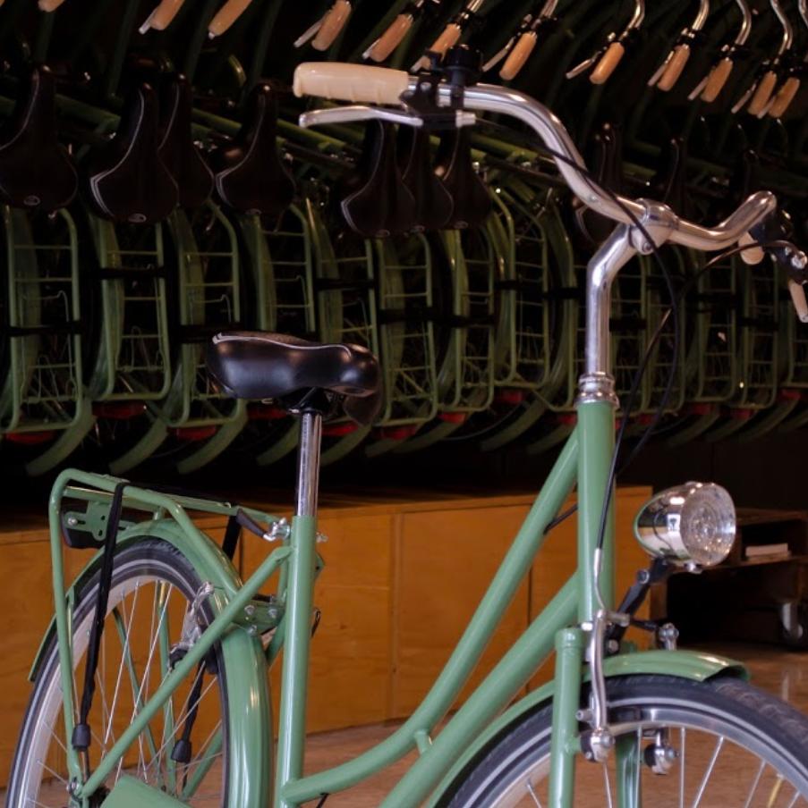 Malaga green city bike hire