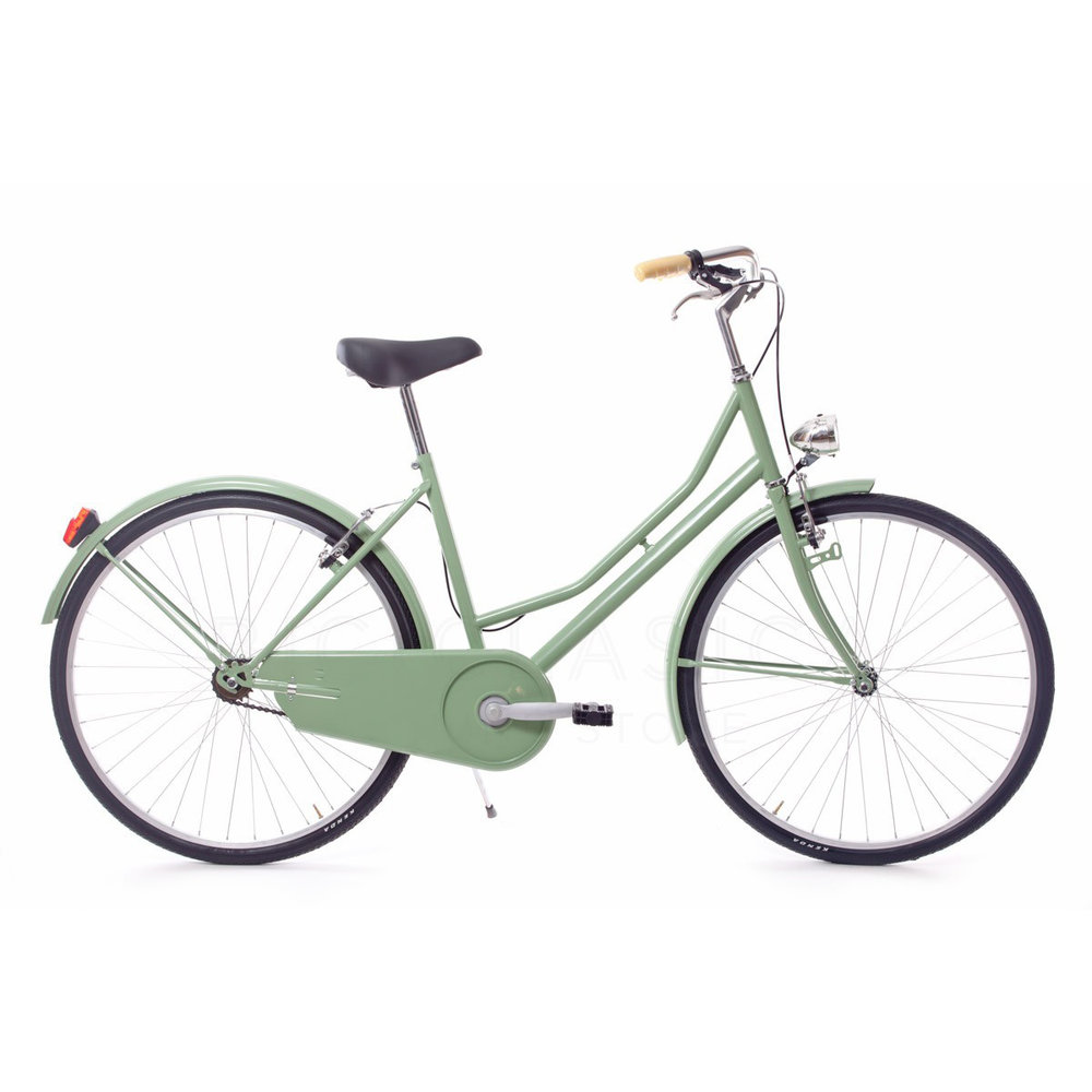 <Puncture-proof tires>lock included<lights and bell>Rear rack -