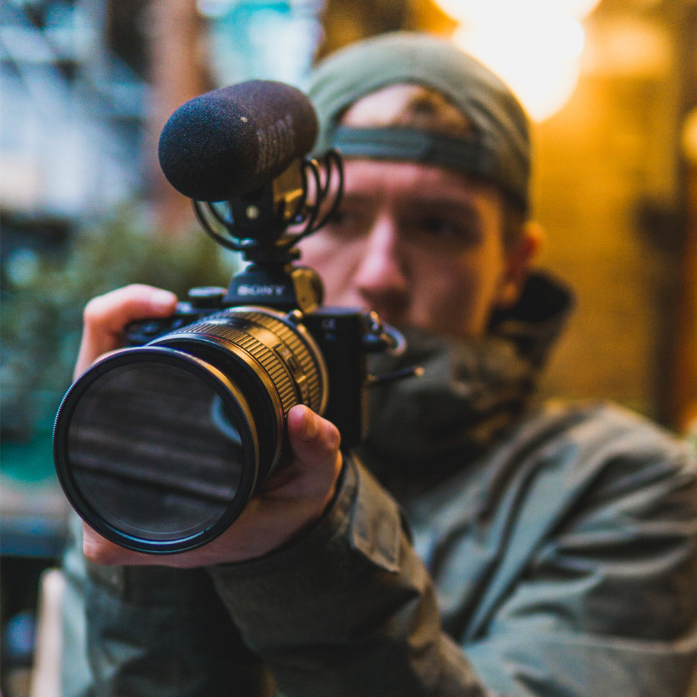 Josh Brooks - Filmmaker.Josh has been working as a freelance filmmaker since college. He has some huge clients under his belt and at 21 this shows the calibre of his work. He is an ex-international Mountain Bike racer and understands the product and markets extremely well.