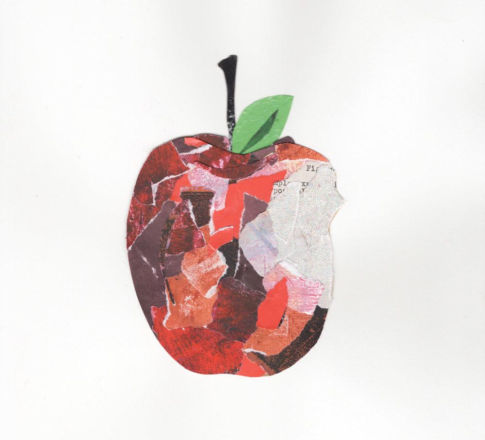 Mange une pomme