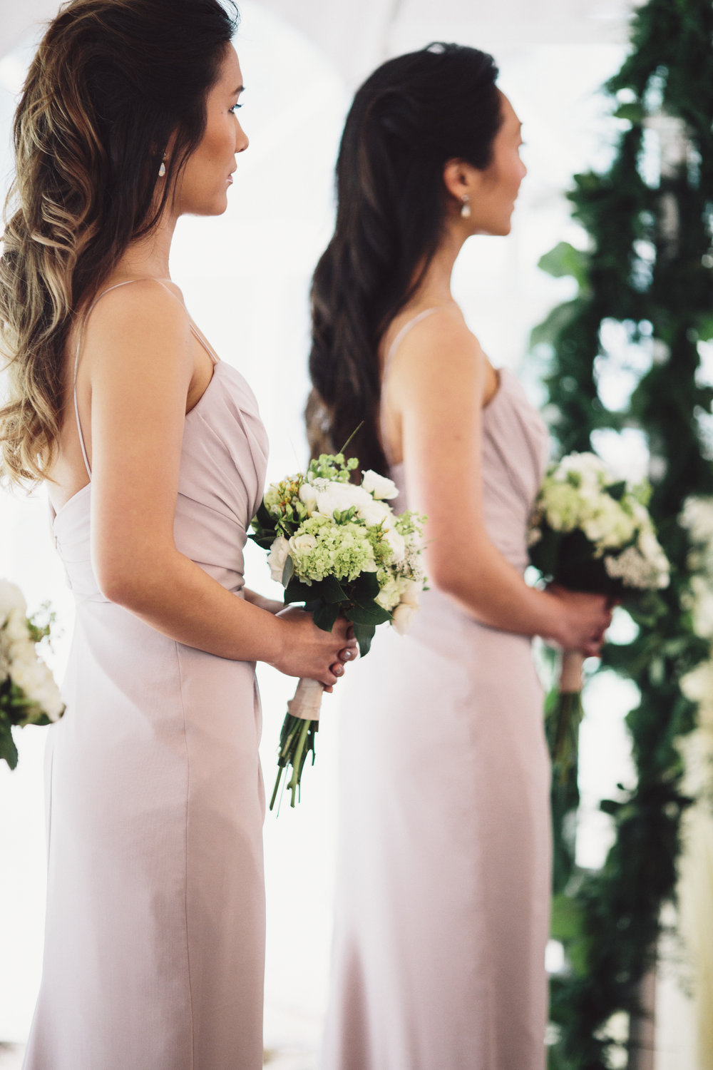 bridesmaid hair and makeup inspo
