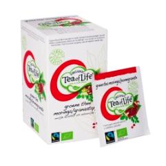 Grønn te moringa og granateple