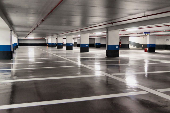 Wentworth St. Parking Garage - 151 8 ft. T8 high output single lamp strips replaced with 140 LED Canopies*58% Wattage reduction for entire garageUp to 10 years of zero maintenance
