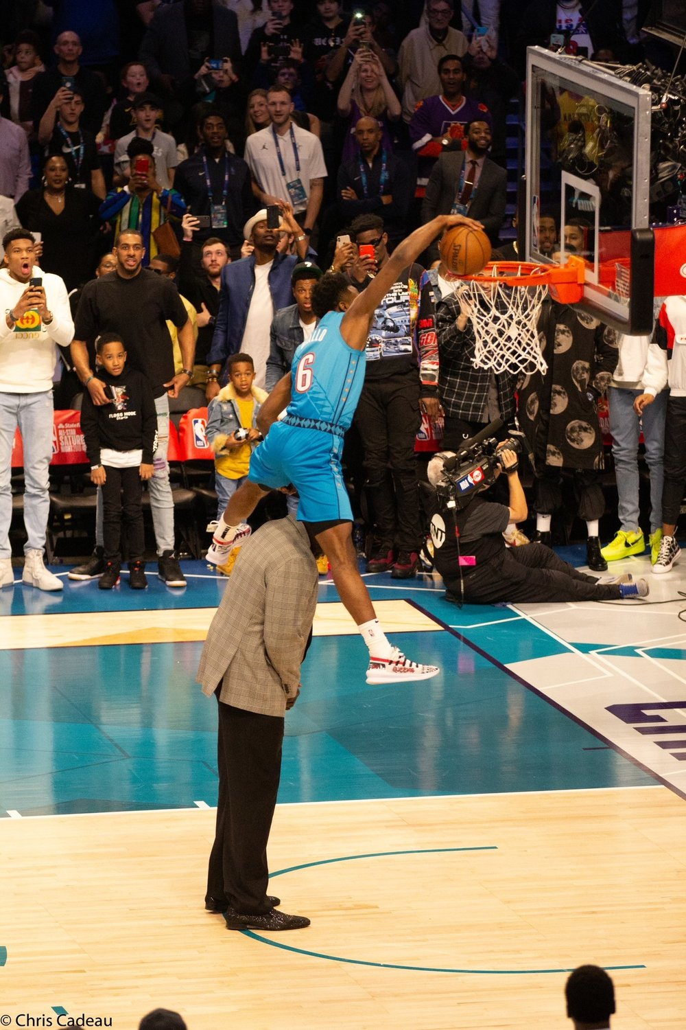 DIALLO'S TRIUMPHANT DUNK IS HALF-SUPERMAN, HALF-AMAZING