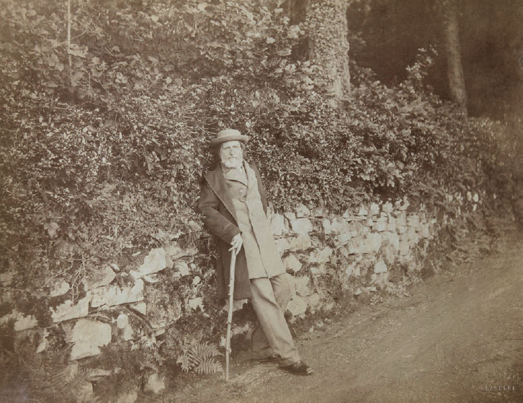 John Ruskin in the 1880s. Art critic and social reformer. Photo courtesy of The Guild of St George/Museums Sheffied