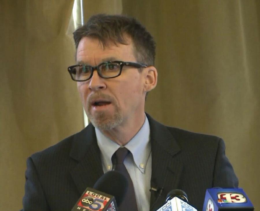 Joe Bolkcom, senador demócrata en Iowa.