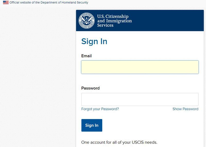 Desde el sitio oficial del Servicio de Ciudadanía e Inmigración en    https://myaccount.uscis.dhs.gov/   , se puede crear una cuenta para dar seguimiento a los trámites migratorios.