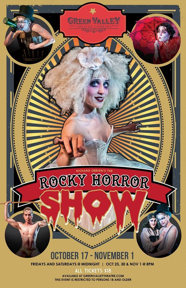 Rocky Horror Freak Show! - October 17th-November 1stExplore