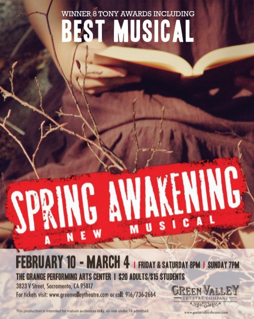 Spring Awakening - February 10th-March 3rdExplore