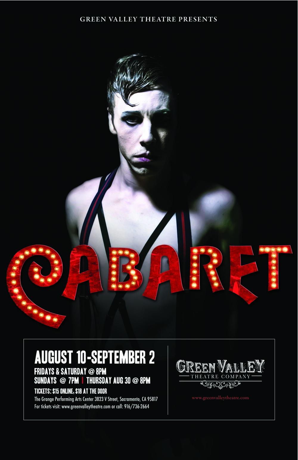 Cabaret - August 10th-September 2ndExplore
