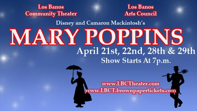 Mary poppins - April, 2017