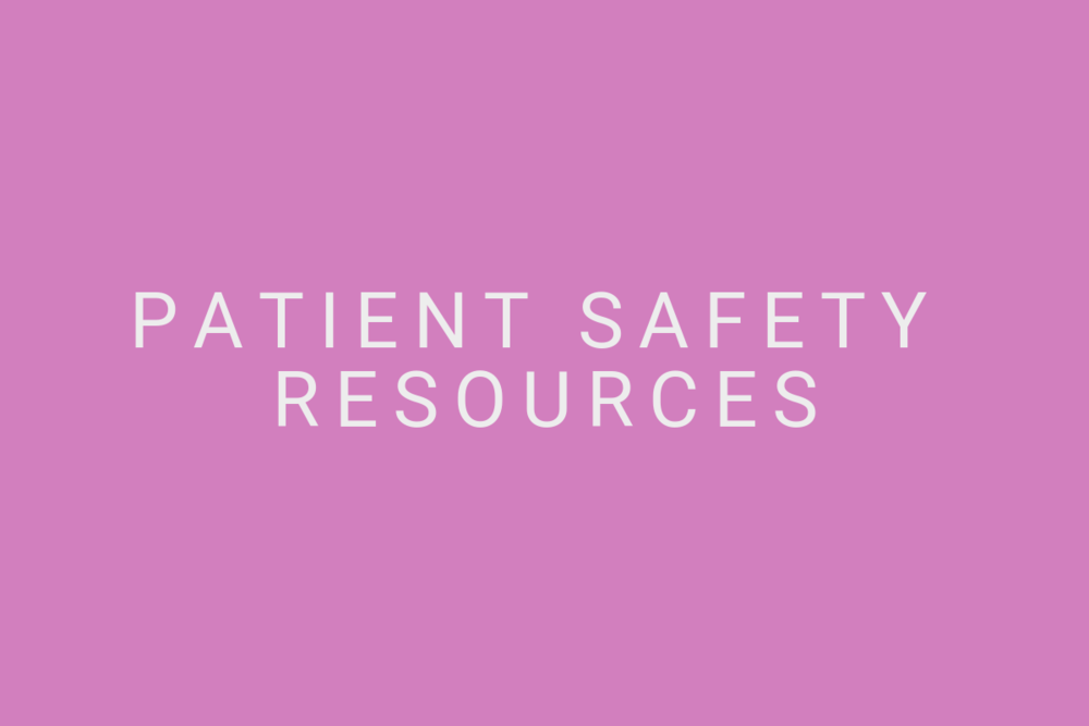 Patient-Safety-Resources