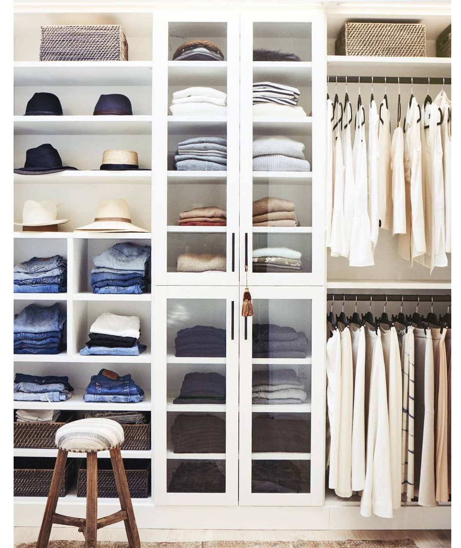 Closet Edit - Everything that belongs in your closet should have a home. A wardrobe overhaul and reset should happen a couple times a year!! Everything should fit you and your lifestyle. With a closet edit, I will come to you and we will go through piece by piece – editing what you should keep, how to organize it, and figure out how we can donate or sell the rest!